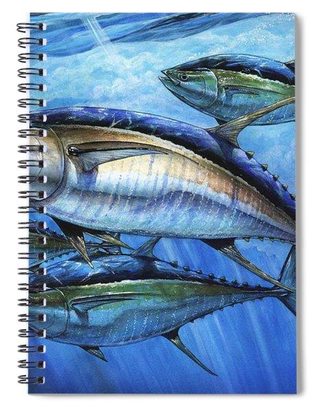 Tuna In Advanced Spiral Notebook