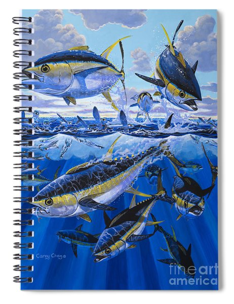 Tuna Rampage Off0018 Spiral Notebook
