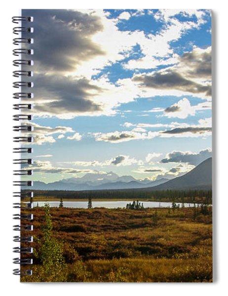 Tundra Burst Spiral Notebook