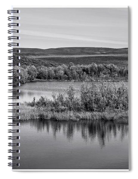 Tundra Pond Reflections Spiral Notebook