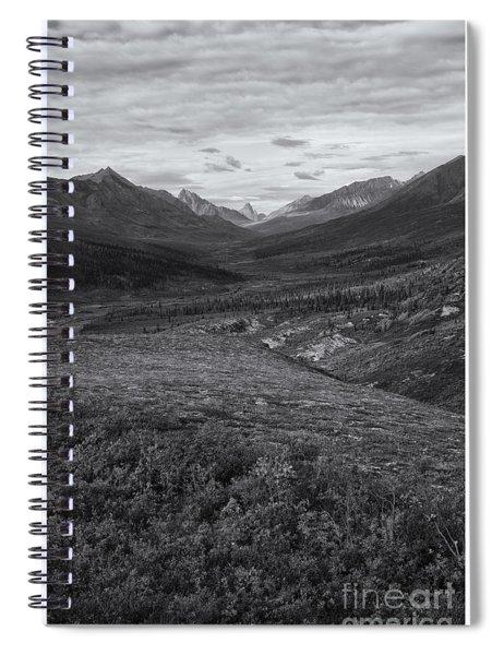 Tundra Valley Spiral Notebook