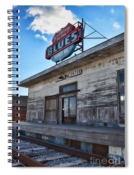 Tunica Gateway To The Blues Spiral Notebook