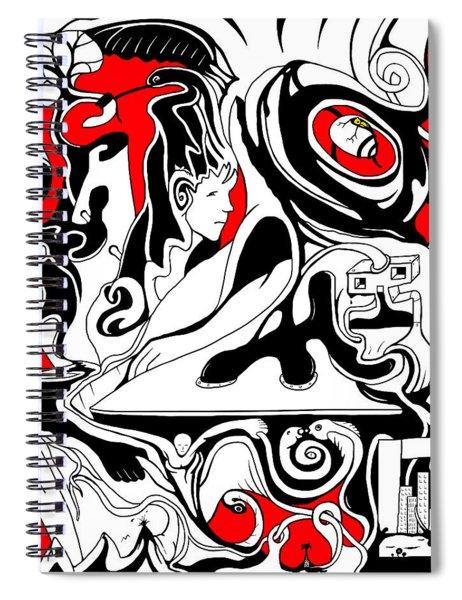 Turmoil Spiral Notebook