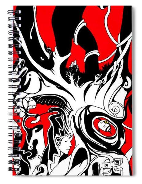 Turmoil Restraint Spiral Notebook
