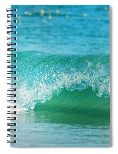 Turquois Waves  Spiral Notebook