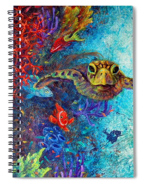 Turtle Wall 2 Spiral Notebook