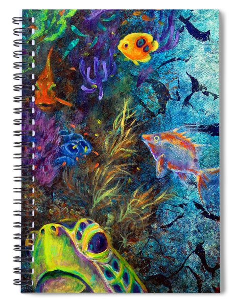 Turtle Wall 3 Spiral Notebook