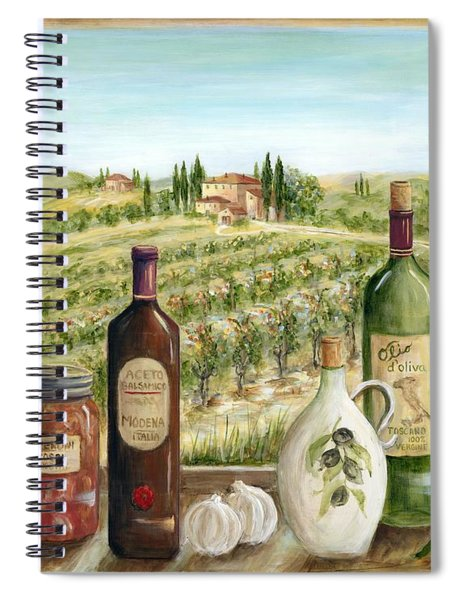 Tuscan Delights Spiral Notebook