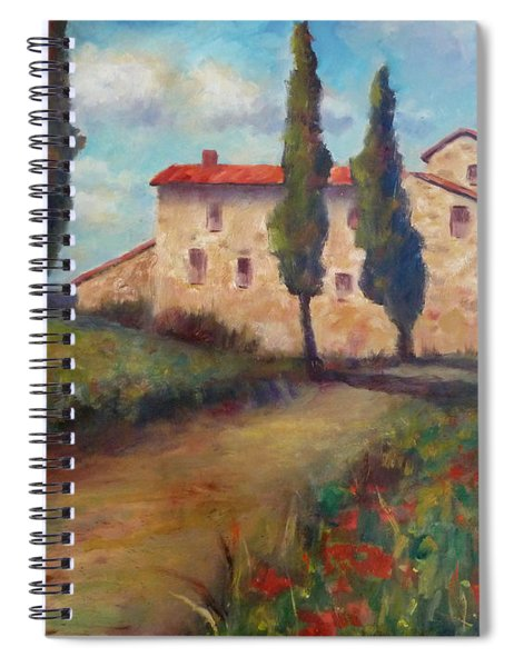 Tuscan Home Spiral Notebook