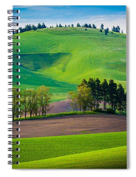 Tuscan Palouse Spiral Notebook