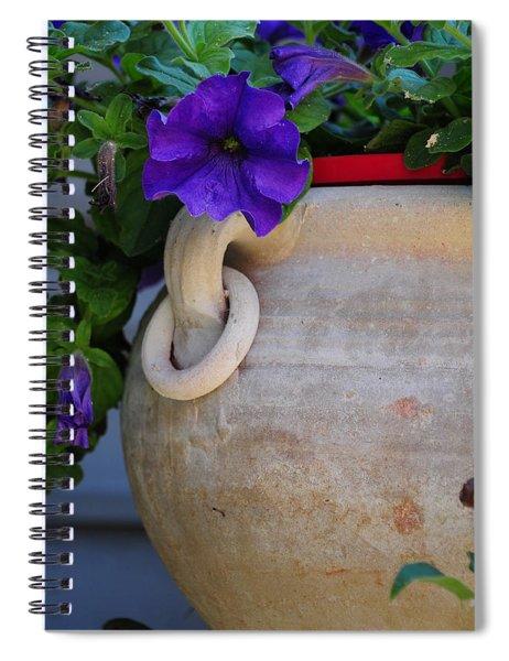 Tuscan Pot Spiral Notebook