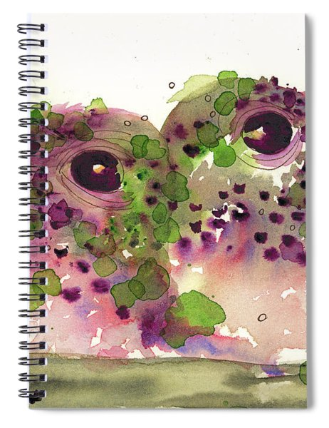 Twin Hummers Spiral Notebook