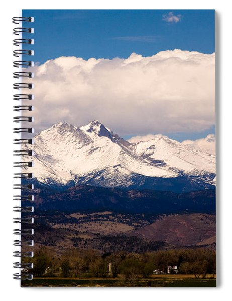 Twin Peaks Snow Covered Spiral Notebook