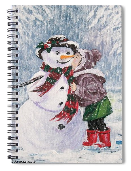 Twinkle In His Eye Spiral Notebook