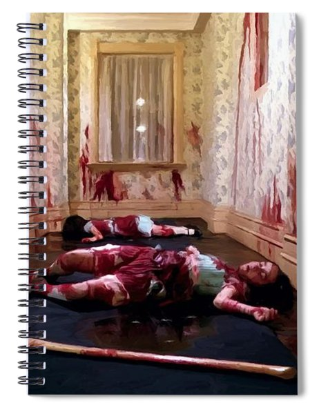 Twins Murdered @ The Shining Spiral Notebook