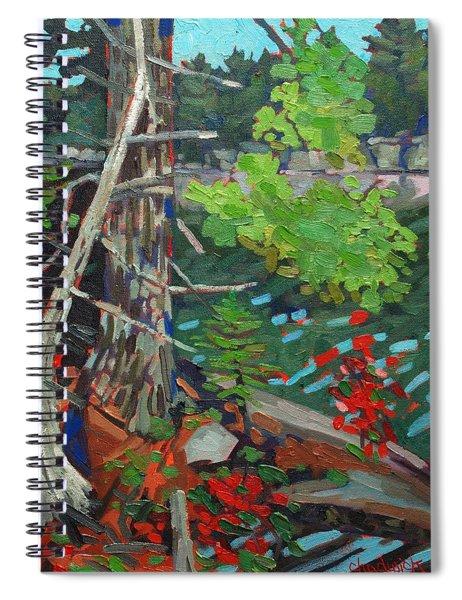 Twisted Island Spiral Notebook