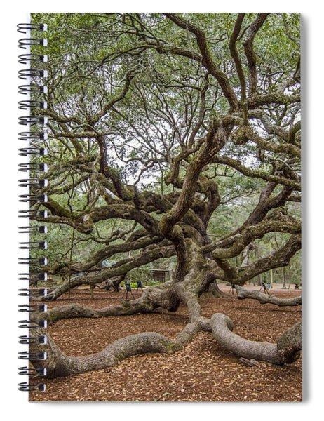 Twisted Limbs Spiral Notebook