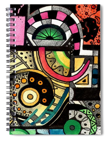Twisting And Turning Spiral Notebook