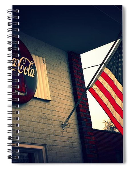 Two American Favorites Spiral Notebook