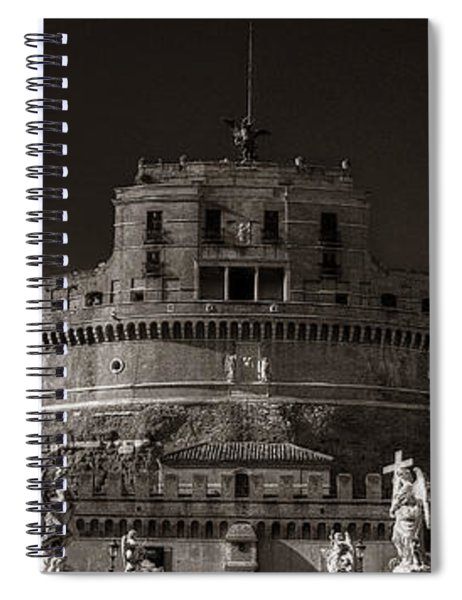 Two Angels Spiral Notebook