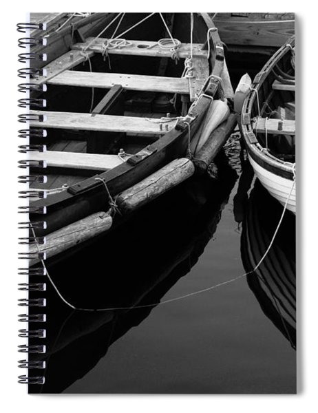 Two At Dock Spiral Notebook