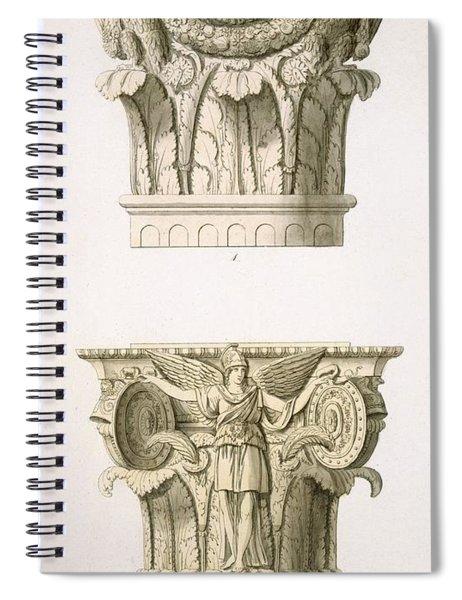 Two Column Capitals Spiral Notebook