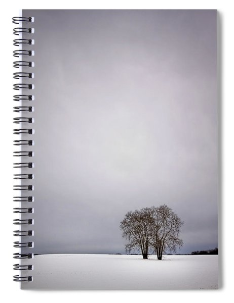Two Spiral Notebook