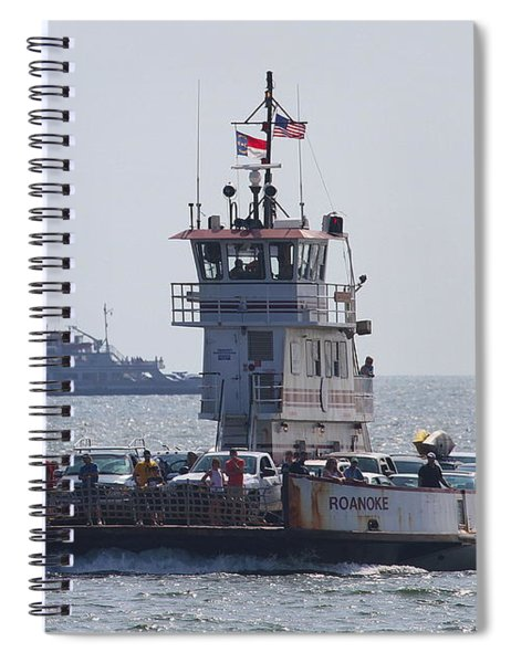 Two Ferries To Ocracoke Spiral Notebook