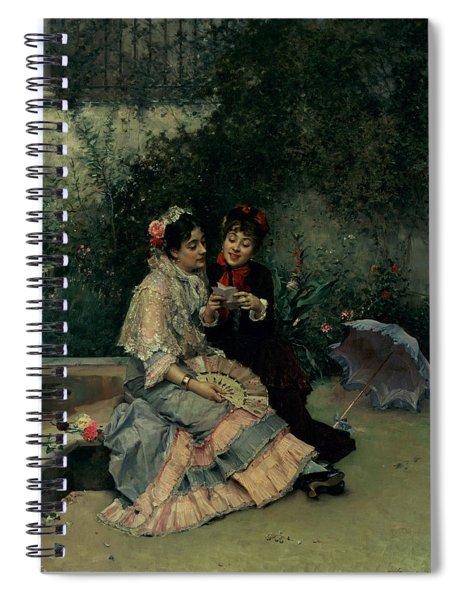 Two Spanish Women Spiral Notebook
