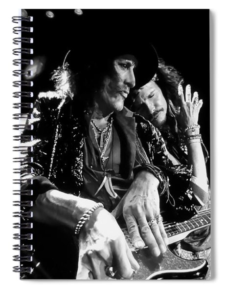 Tyler And Perry In Black And White Spiral Notebook