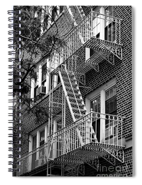 Typical Building Of Brooklyn Heights - Brooklyn - New York City Spiral Notebook