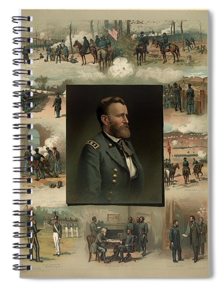 Ulysses S Grant - From West Point To Appomattox  Spiral Notebook