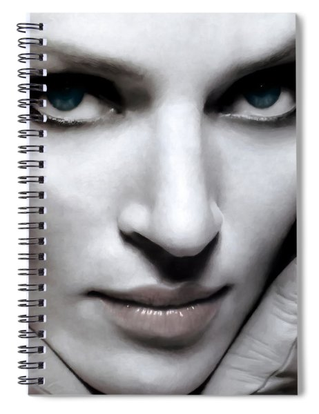 Uma Thurman Spiral Notebook