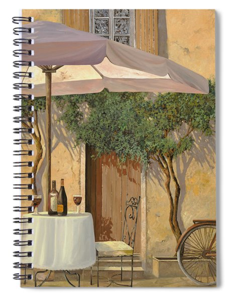 Un Ombra In Cortile Spiral Notebook