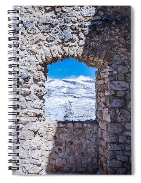 A Window On The World Spiral Notebook