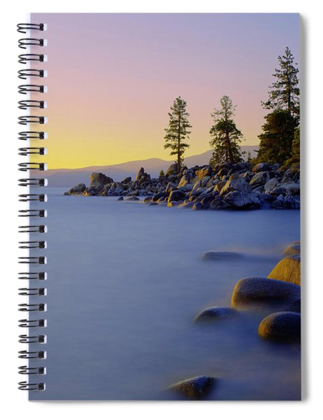 Under Clear Skies Spiral Notebook