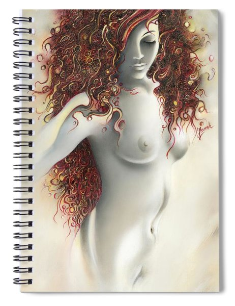 Under The Cover Spiral Notebook