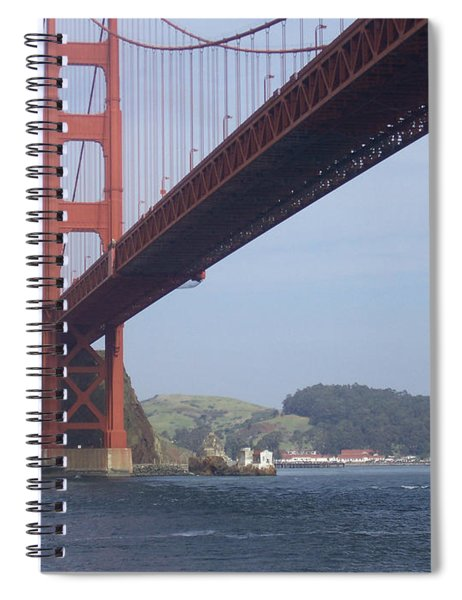 The Golden Gate Bridge San Francisco California Scenic Photography - Ai P. Nilson Spiral Notebook