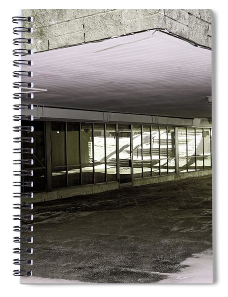 Under The Library Spiral Notebook