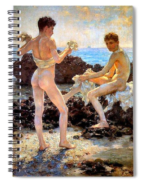 Under The Western Sun Spiral Notebook