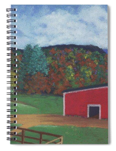 Undermountain Autumn Spiral Notebook