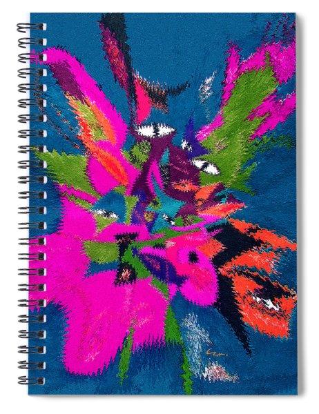 Underwater Feline Spiral Notebook