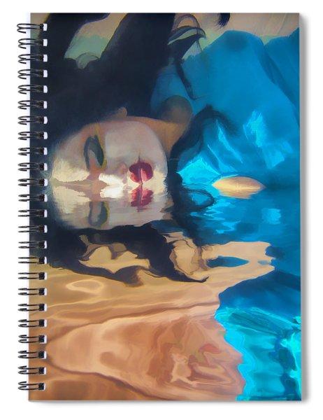 Underwater Geisha Abstract 1 Spiral Notebook