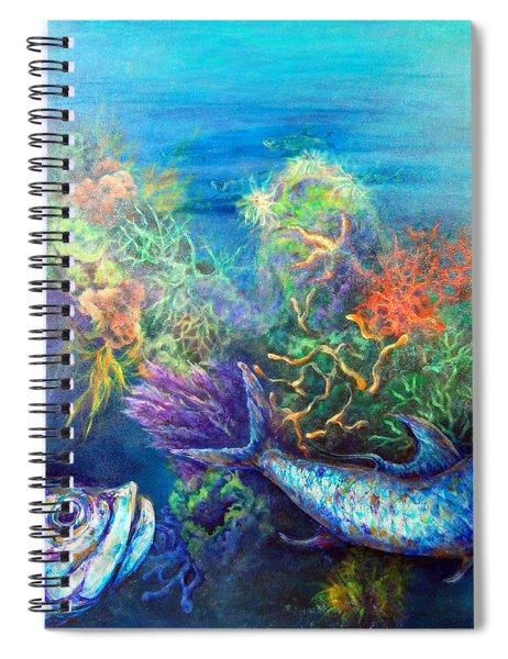 Jesus Reef  Spiral Notebook