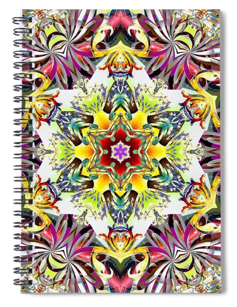 Unfolded Source Spiral Notebook