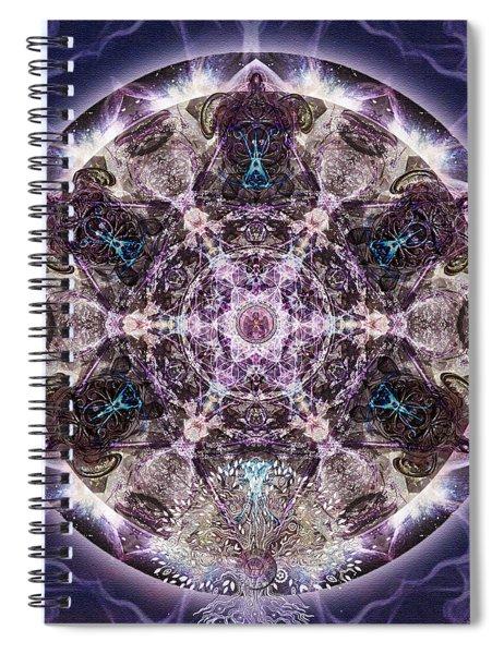 Unfoldment Spiral Notebook