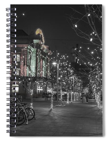 Union Station In The Winter Spiral Notebook