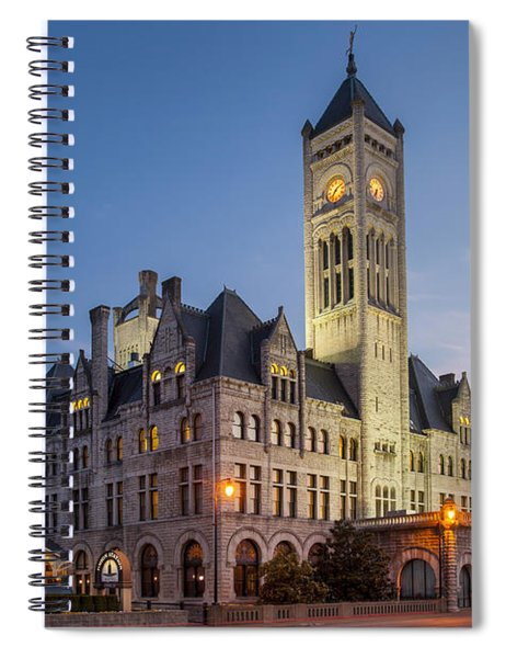 Spiral Notebook featuring the photograph Union Station  by Brian Jannsen