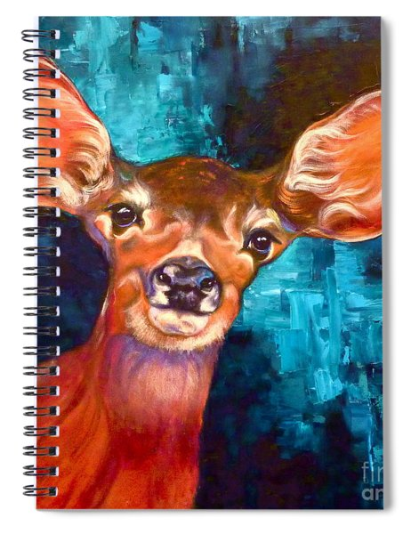 Uniquely Fawn Spiral Notebook