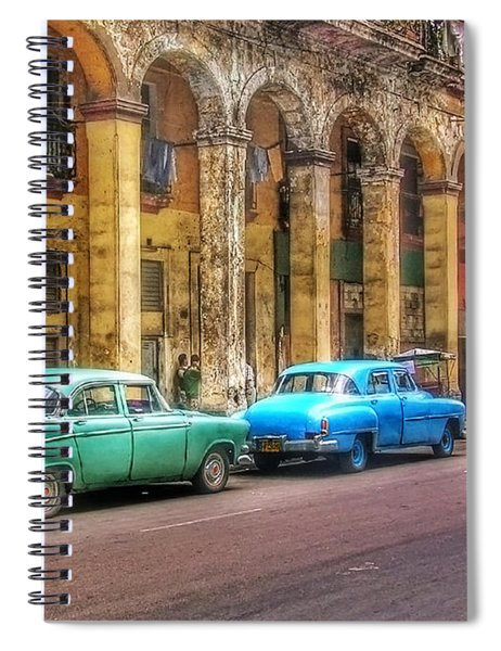 United Colors Of Coches Habaneros Spiral Notebook
